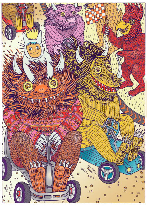 2headedsnake:  lisahanawalt.com  Lisa Hanawalt - Where The Wild Things Are