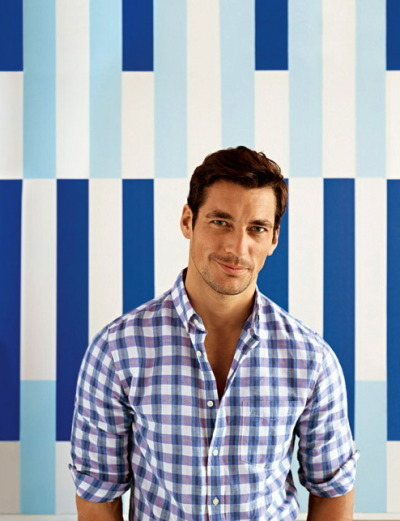 David Gandy for Banana Repub­lic [Sum­mer 2012] See more here.