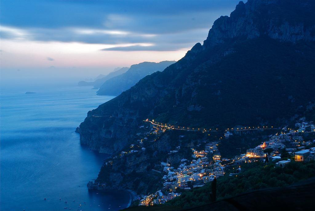 landyscape:  Good Evening Positano (by juliaclairejackson)