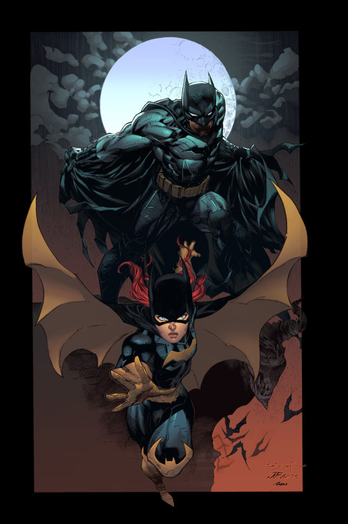 #bruce x #barbara… (by Ardian Syaf and Ross Campbell) #SUPERdope!