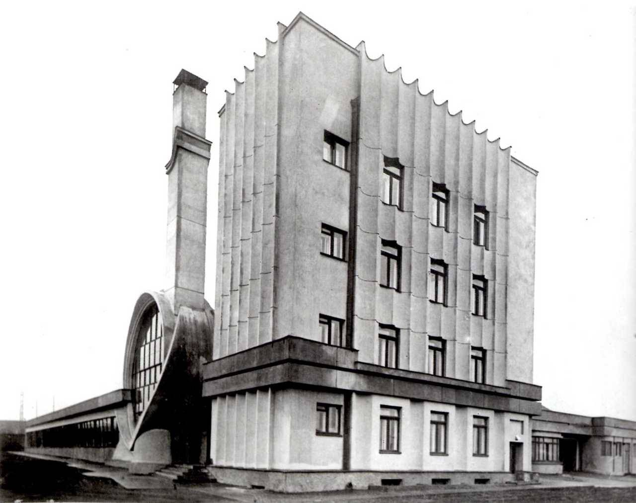 archimaps:  The Gosplan Garage, Moscow