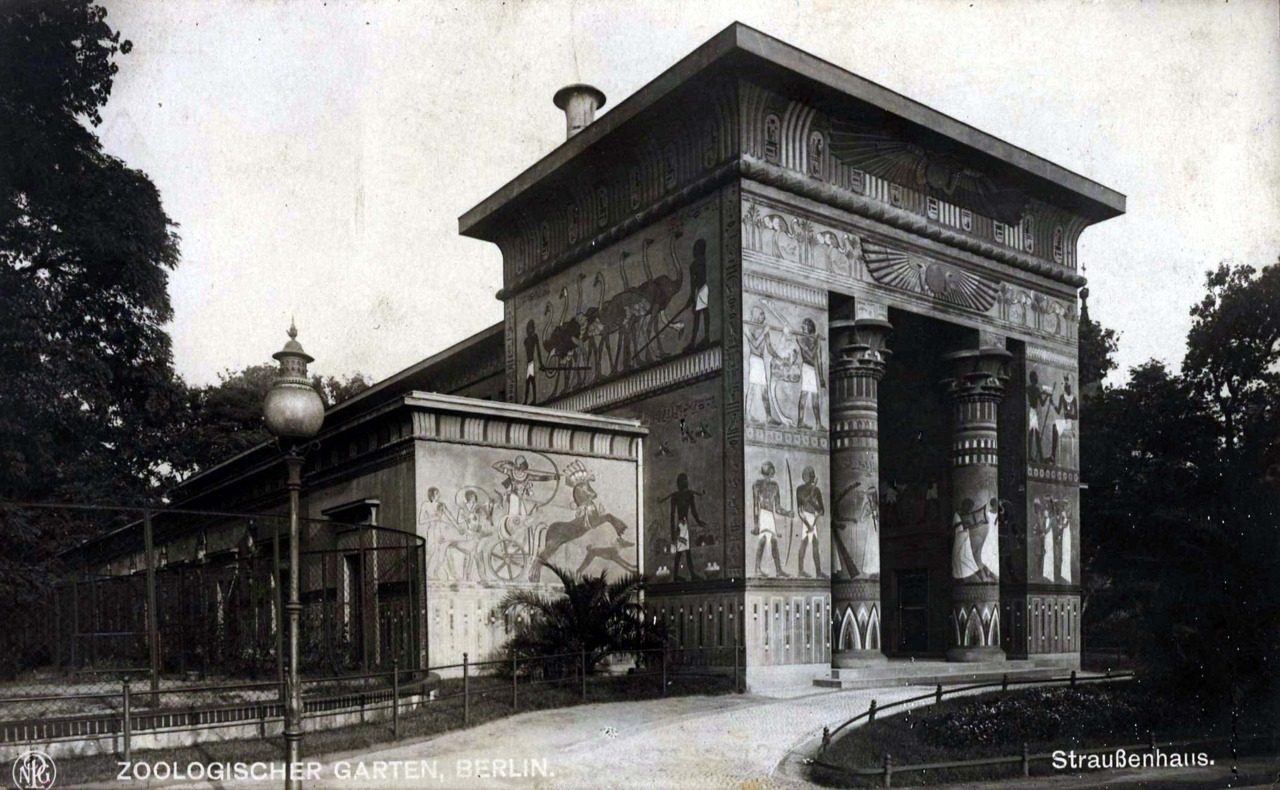 A pavilion at the Zoological Gardens, Berlin