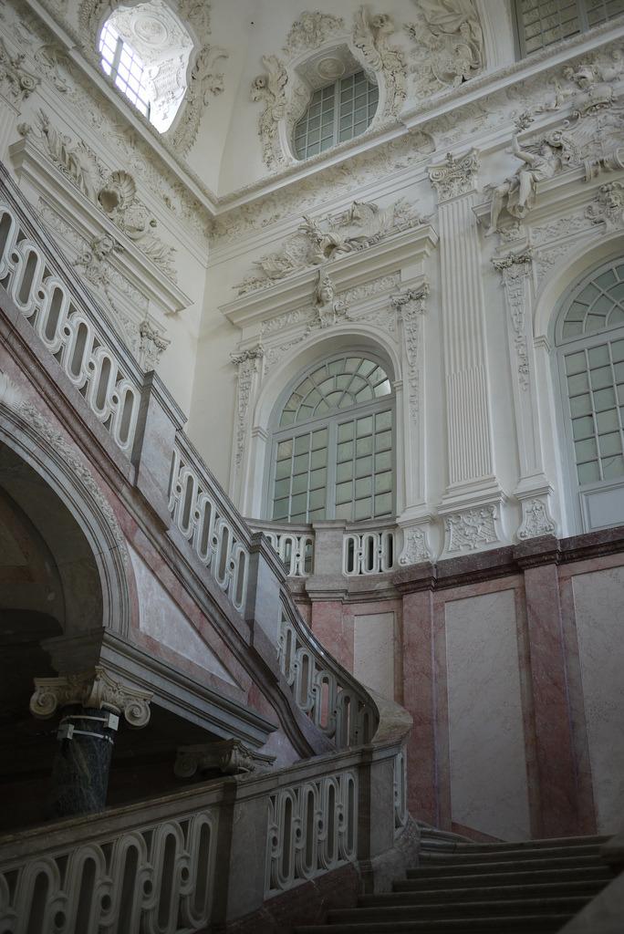 Staircase Hall  Neues Schloss Schleißheim, Munich