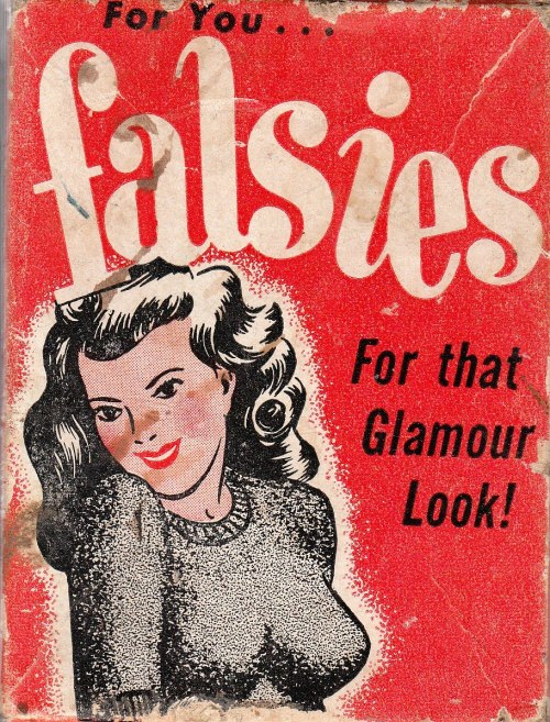 retrogasm:  Falsies