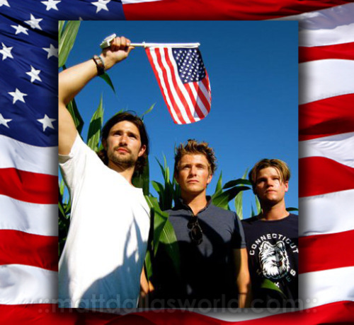 Happy Memorial Day. [Matt Dallas, Charlie Bewley & Steven Grayhm during the documentary research tour 2011 (Into the Heart of America: A Soldier's Story) for their upcoming film Thunder Road.] MDW main site TwitterFacebook PageYouTube (Photo: Jupiter Baudot; Composite: Matt Dallas World)