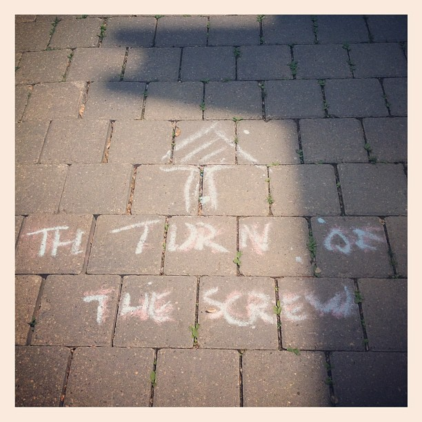 The turn of the screw (Taken with instagram)