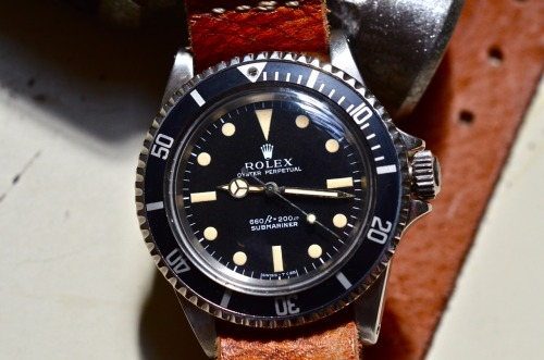 hodinkee:  Rolex Submariner from 1970 (Ref 5513) with perfectly faded hands, dial, and original bezel. Listed for $6000. Let us know if interested. It's gorgeous.