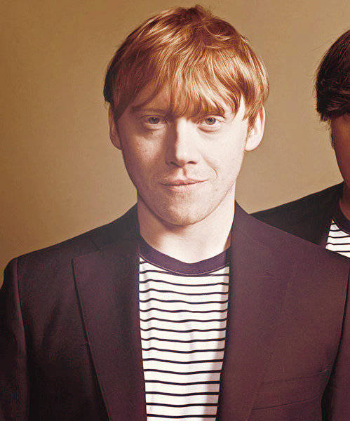 itsharrypotterbitch:  ♕ 39/100 pictures of Rupert Grint