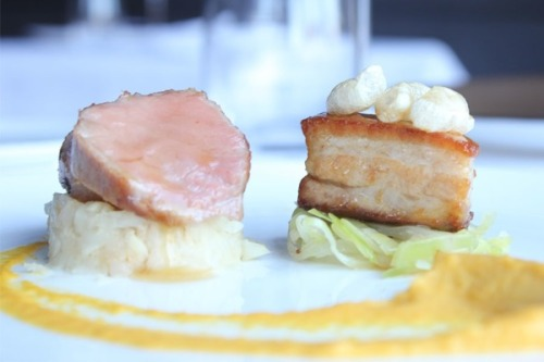 Read our review of Launceston Place, including the Popcorn Pork featured above. http://www.bonvivant.co.uk/blog/2012/05/28/launceston-place-restaurant-review/