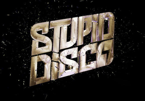 Stupid Disco 3D logo by nesh.