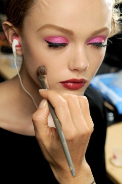Dior Makeup at Paris Fashion Week 2011; Frida Gustavsson