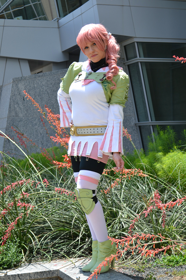 Serah Farron White Mage DLC preview from Animazement this past weekend!