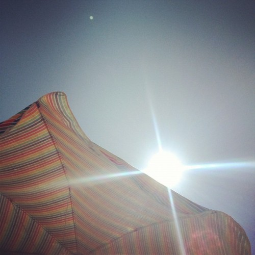 Last day on the beach (Taken with instagram)