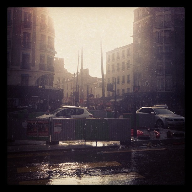 Sunshowerses (Taken with Instagram at Porte de Montreuil)