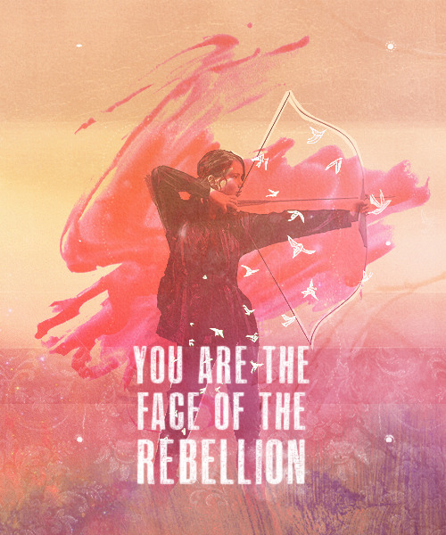 mydearreckless:  I'm the Mockingjay