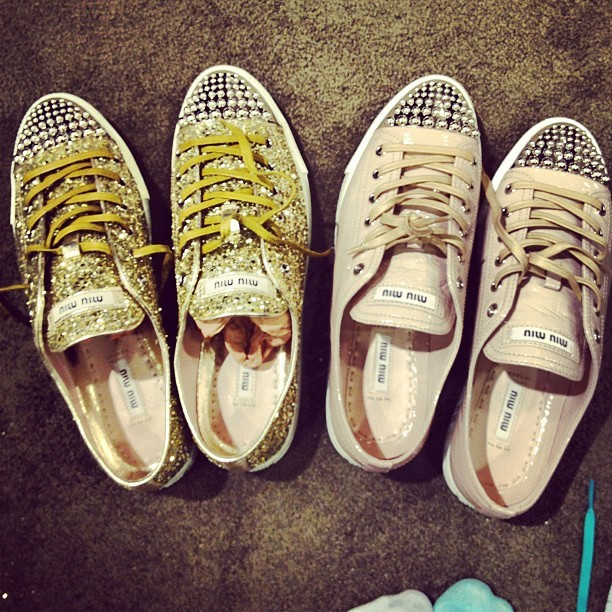 Choices… #miumiu #choices #nordstrom #love #sneakers #gay #gayboy #igers #instadaily #instalove #ignation #instahub #instaphoto #instagay  (Taken with Instagram at Nordstrom)