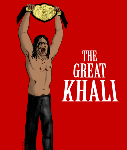 Master of the Punjabi Prison match, former World Heavyweight Champion the Great Khali