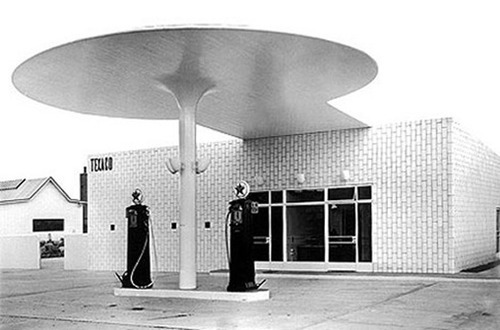 creativecultid:  Gas Station by Arne Jacobsen (1936)