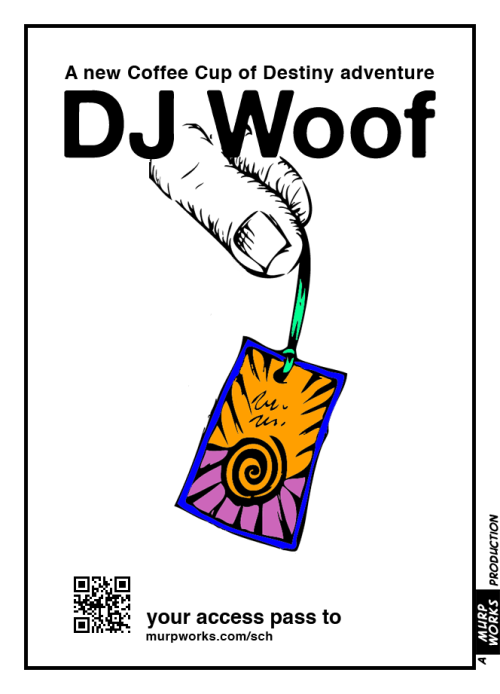 DJ Woof Access Pass SCHRÖDINGER'S Coffee House