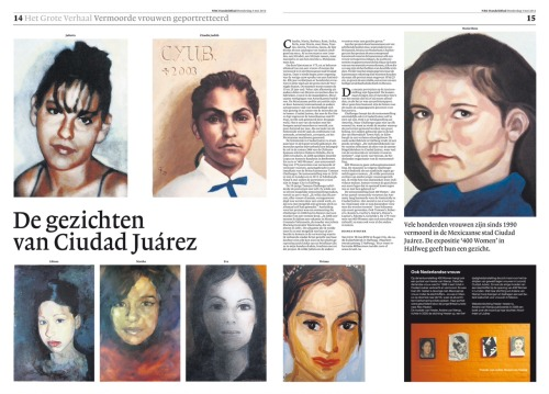 Article and interview in the cultural section of the Dutch NRC paper.