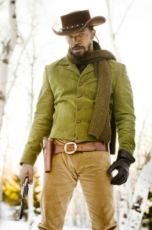 Jamie Foxx as Django in Tarantino's Django Unchained