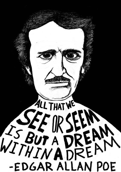 "whenstuffgetslegit:  Sir, you put the ""Poe"" in ""poetry."" Hohoho, see what I did there?"