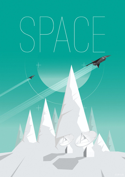 Science poster designs by Zesar Leon: Society 6/ Behance