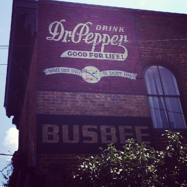 Dr. Pepper (Taken with Instagram at Gordonsville, VA)