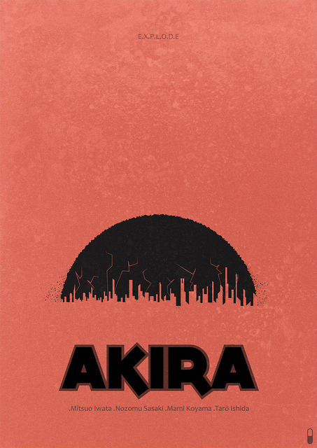 Akira (1988) - Minimalist Poster on Flickr.