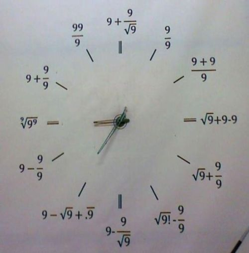 the-krusty-crew:  My kind of clock