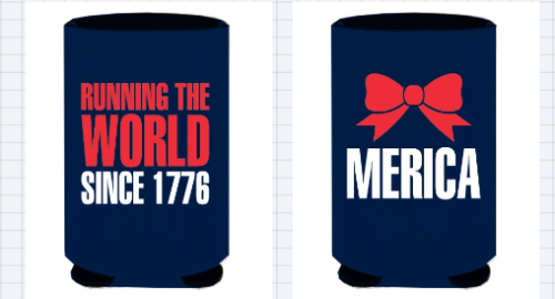 Since I know all of you loooooved this tank, why not get it in a koozie too? :)