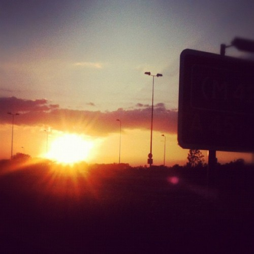 You call that a #sunset (Taken with instagram)