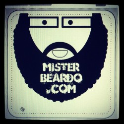misterbeardo:  Cool or Lame? take 2! #vinylstickers #beard (Taken with instagram)