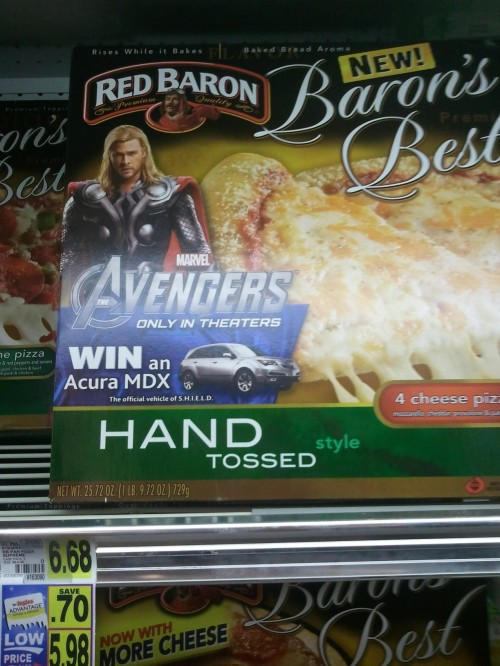 Oh yes. I do like my Thor 'hand tossed.'