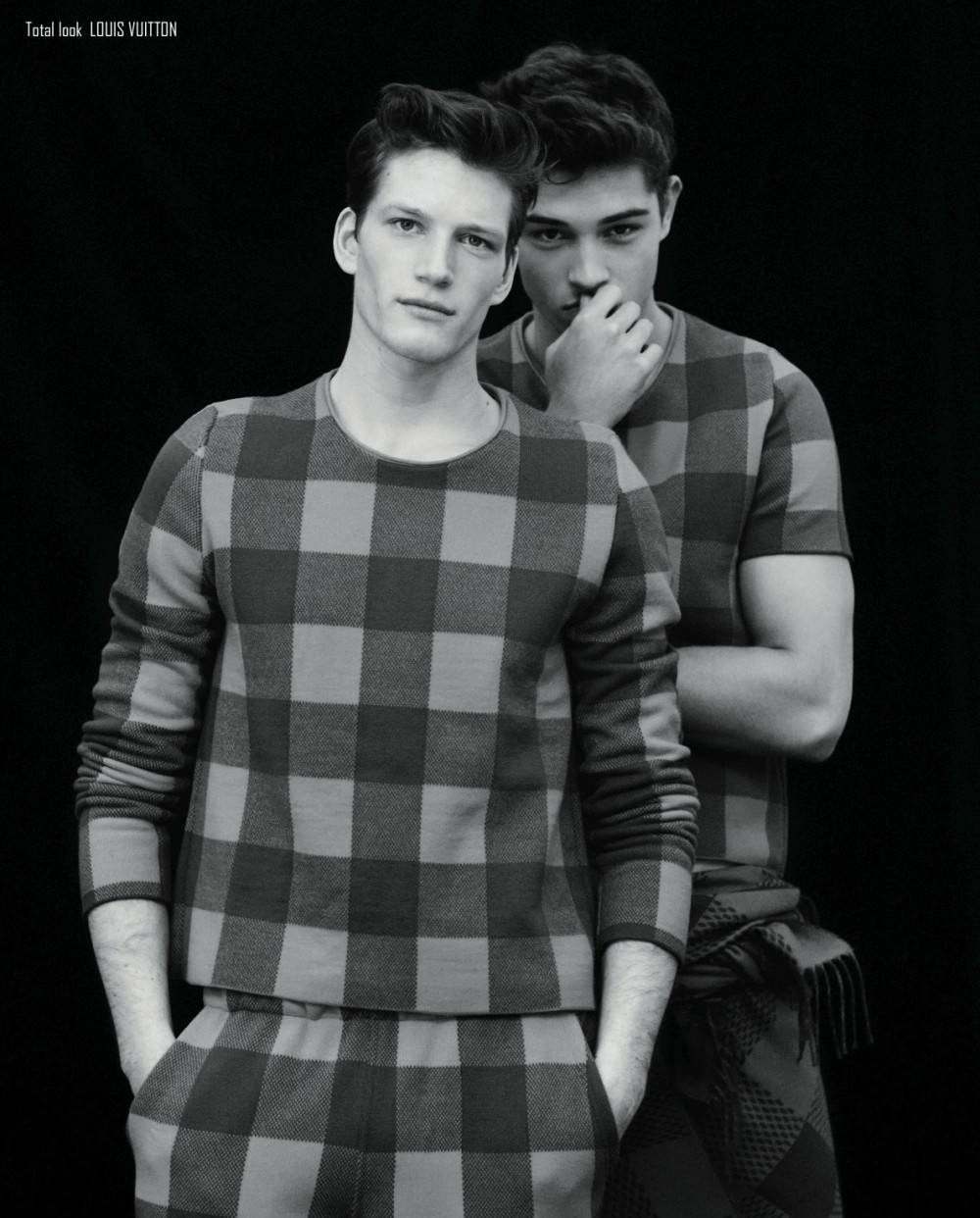 "inamirror:  Florian Van Bael and Francisco Lachowski for ODDA Magazine- Questioned Innocence"" by Aline & Jacqueline Tappia"