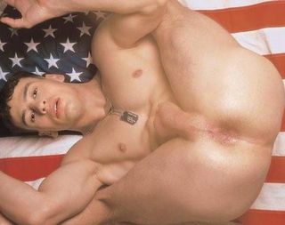 bbincumming:  Doing his patriotic duty for his fellow man. That's why they call him a serviceman.