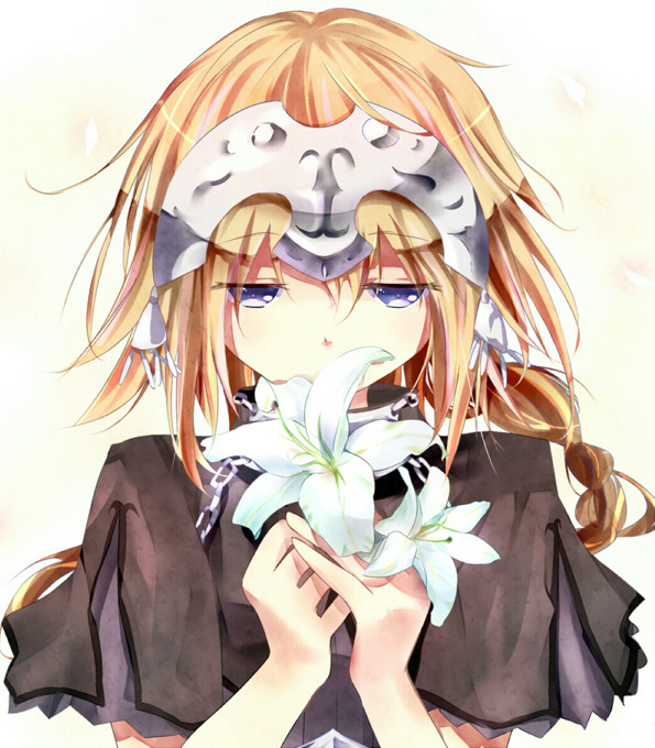Cute Jeanne pic (contains yuri)