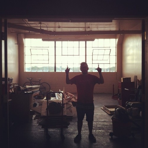 Say hello to the Lincoln warehouse studio, MKE (Taken with instagram)