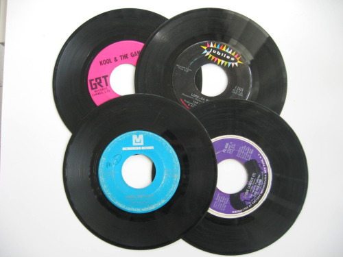 Classic drum breaks on 45's Kool & the gang - N.T The Meters - look a -py-py The Winstons - Amen brother Lynn Collins - Think  The Amen and the Think joint were the two most important drum breaks in the Jungle music scene. get familliar