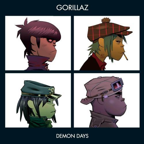 Gorillaz - Fire Coming Out Of The Monkey's Head