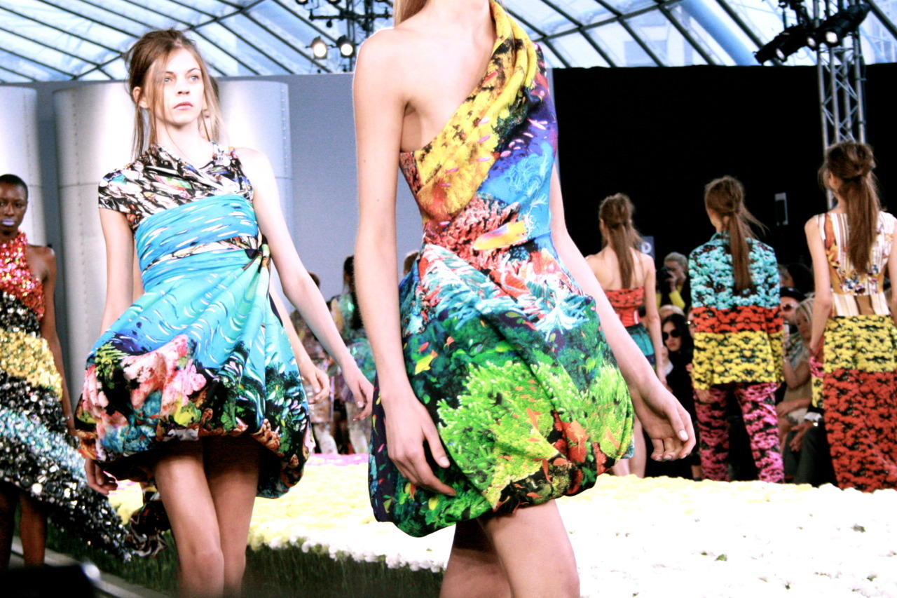 Mary Katrantzou's sublime underwater fiesta (London Fashion Week, Spring/Summer '12)