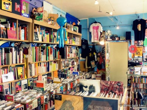 "If you're in Paris, 'Bimbo Tower' is an excellent music shop for experimental sounds. It's rather difficult to find, hidden on a back street but once found, I spent an hour or so in there browsing blissfully. I got Ami Yoshida's ""Asian Beauty - Endless Loop"" in there, which is a great CD of recordings she made as a teenager on pretty basic equipment (I'm guessing). It's essentially (just) Ami multi-tracking and looping her voice mixed with some field recordings too, but the range of atmospheres she creates with such limited tools is really impressive. [the photo is not mine btw]"