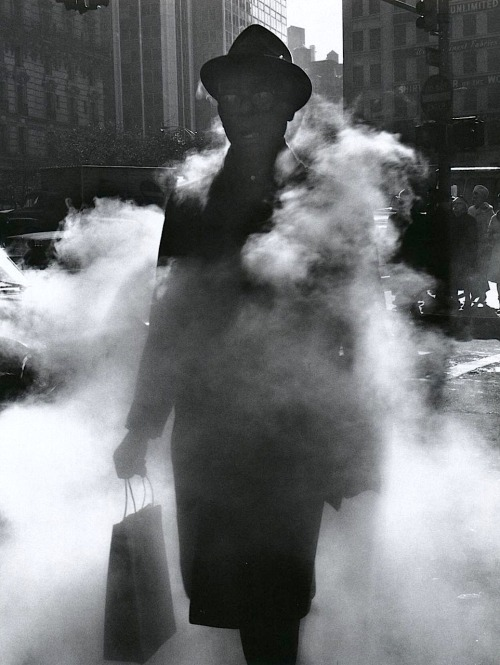 Arthur Tress Man in Steam, New York, 1968