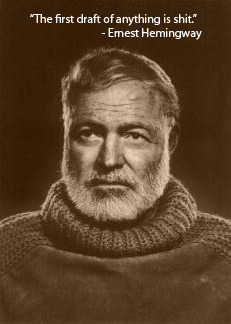 Words of wisdom from Ernest Hemingway
