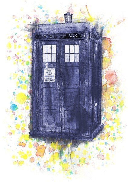 ~The Tardis…. amazing