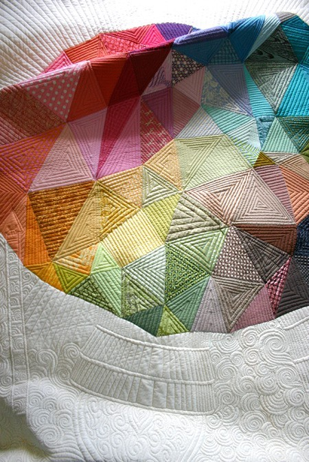 This is just amazing! I love every inch of this quilt.