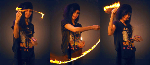 Lights #thegirlonfire #hungergames