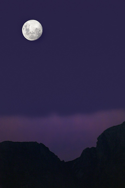 mer-de:  Purple Moonrise