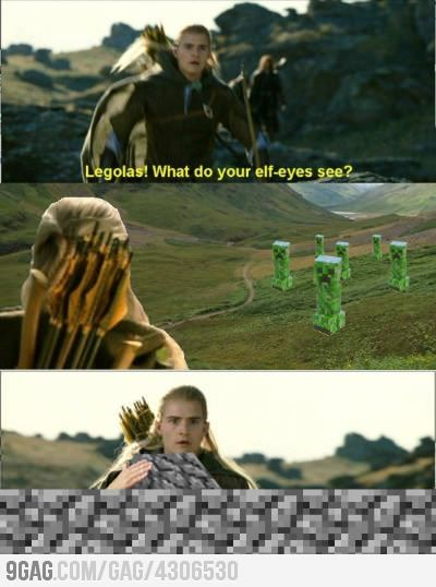 9gag:  Legolas, what do you see?