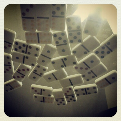 The Domino Effect.  (Taken with instagram)